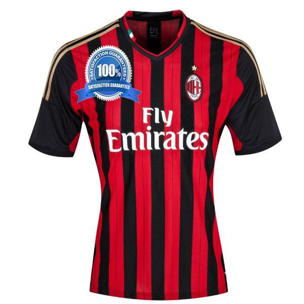 AC Milan Home Football Shirt 2013-14