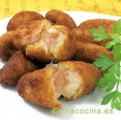 Croquetas de salmón y queso crema » Divina CocinaRecetas fáciles, cocina andaluza y del mundo. » Divina Cocina