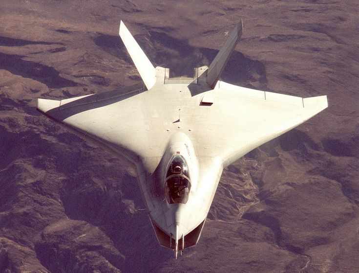 boeing x-32 front view