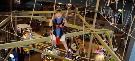 Wilderness at the Smokies - Sevierville - hotel with indoor and outdoor waterparks and lots of other activites