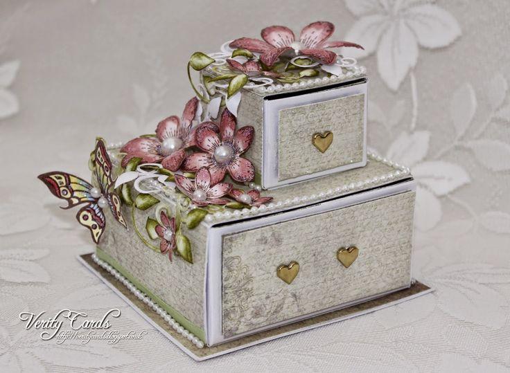 Verity Cards: Jewellery Gift box Tutorial