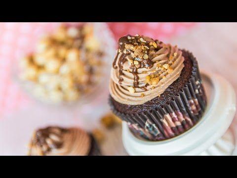 Cupcake Red Velvet - Especial San Valentín | Quiero Cupcakes! - YouTube