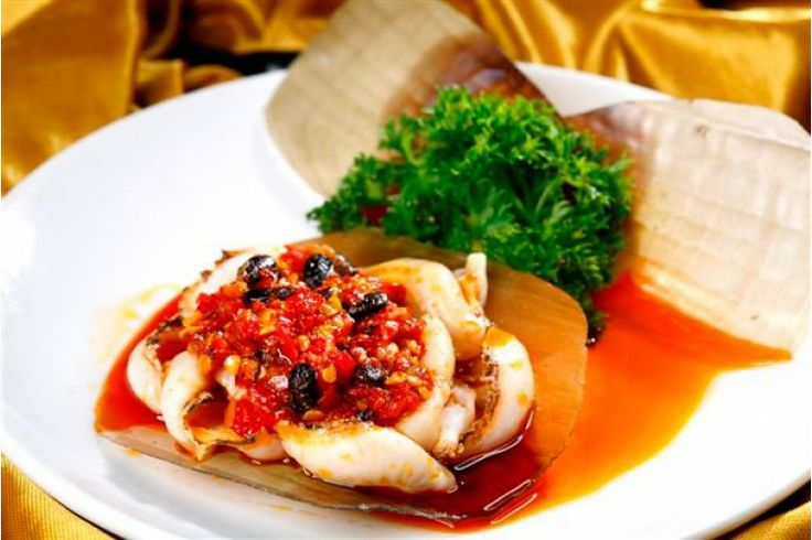 Kerang Kampak dengan Saus Pedas Special at Nan Xiang & Shanghai Cuisine Senayan City