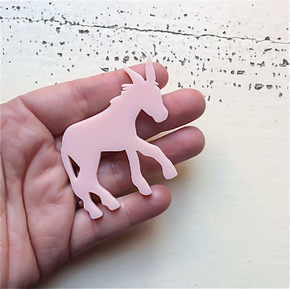 Donkey Laser Cut Acrylic Jewelry Findings by CraftyCutsLaser #lasercut #lasercutsupplies https://www.etsy.com/au/listing/217522454/donkey-laser-cut-acrylic-jewelry?ref=shop_home_active_4
