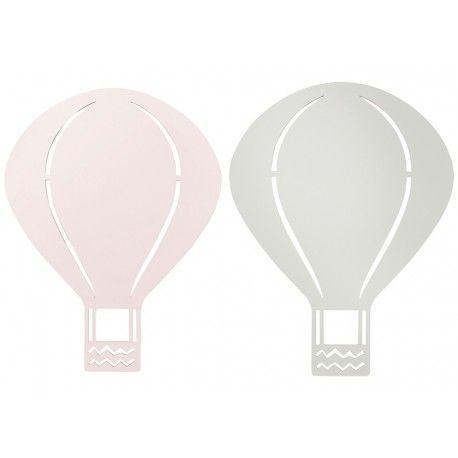Kreieren Sie mit dieser schönen Air Balloon Wandlampe eine gemütliche Atmosphäre im Kinderzimmer! In dem sanften Nachtlicht des...