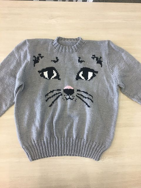Ravelry Wilderpeople Cat Sweater Pattern By Hunt For The