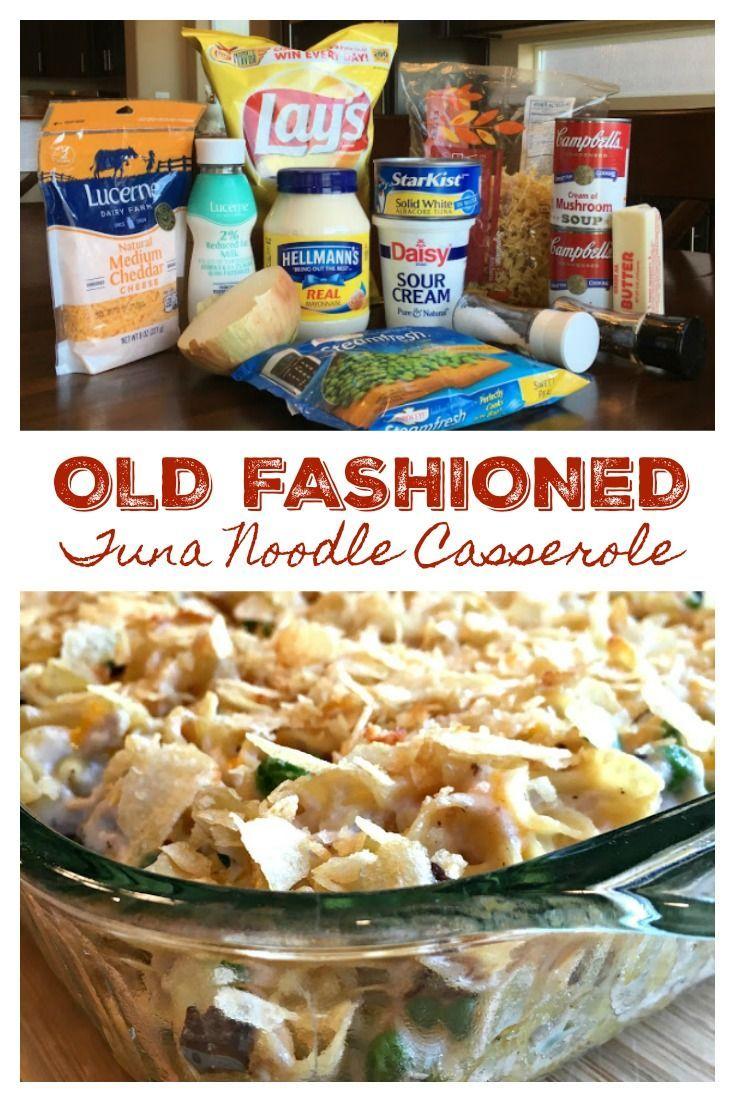 the best old fashioned tuna noodle casserole  tuna noodle