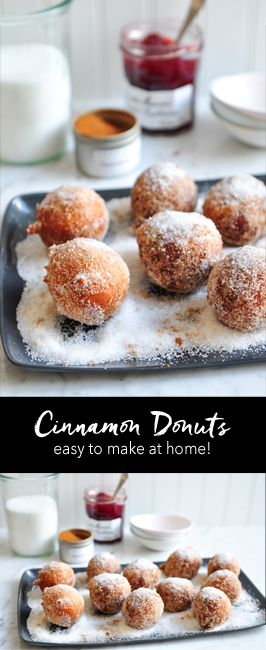 This recipe for Cinnamon Donuts comes from Gary Mehigan of MasterChef Australia. An easy recipe to try at home | eatlittlebird.com