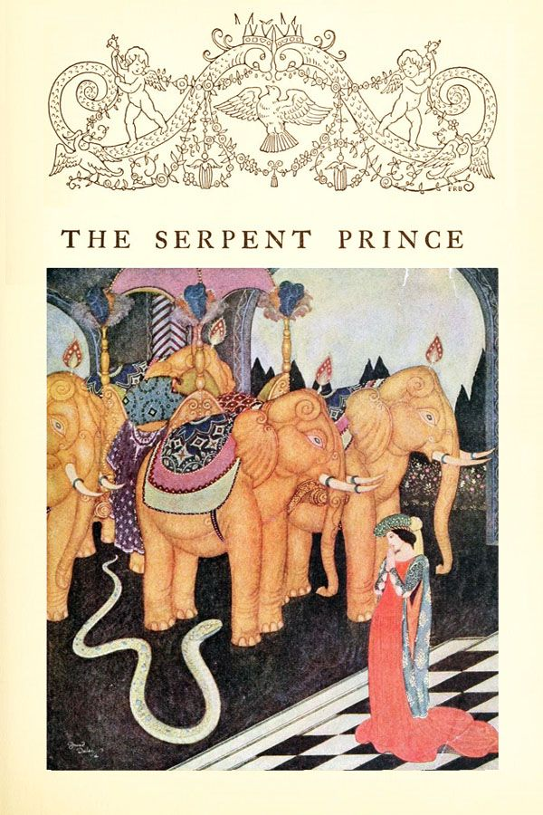 The Serpent Prince; An Italian Fairy Tale - Edmund Dulac's Fairy-Book, 1916