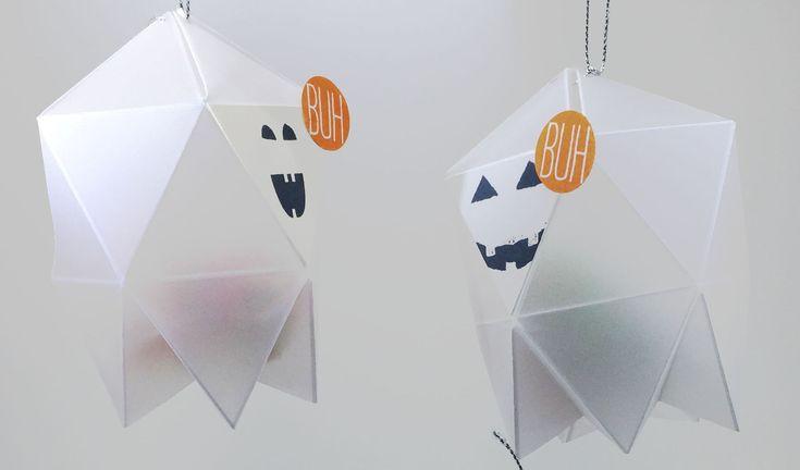 Eine Videoanleitung für eine kleine Spukgeister-Box. Ein süßes Halloween-Geschenk für kleine Gespenster, hergestellt mit den Materialien von Stampin' Up!