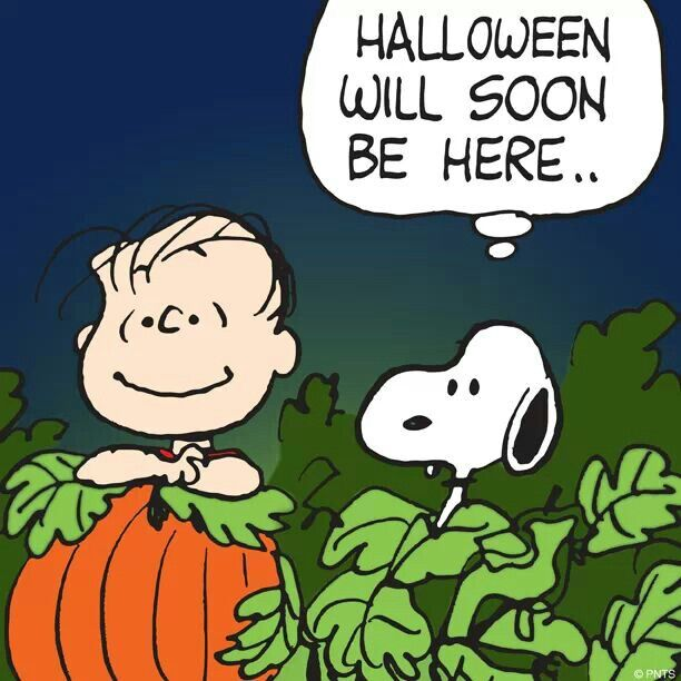 halloween is almost here peanuts gang pinterest