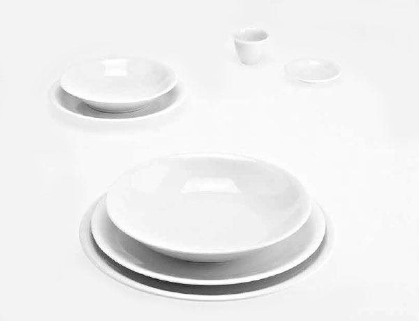 M s de 25 ideas fant sticas sobre porcelana blanca en - Platos porcelana blanca ...