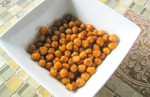 Healthy snack: chickpea poppers - Mytaste.com