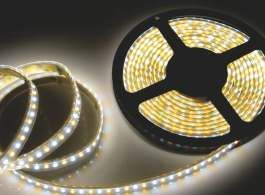 CRI90 CCT Adjustable Strips with two Separate LED