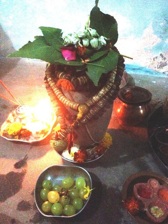 Navaratri - Shivaratri - Vegan Abhishekam   10 page ebook for Shiva Lingam  <3 supports my work in rural india - as a vegan i perform abhishekam with no animal products, ghee or milk etc.  heres how...