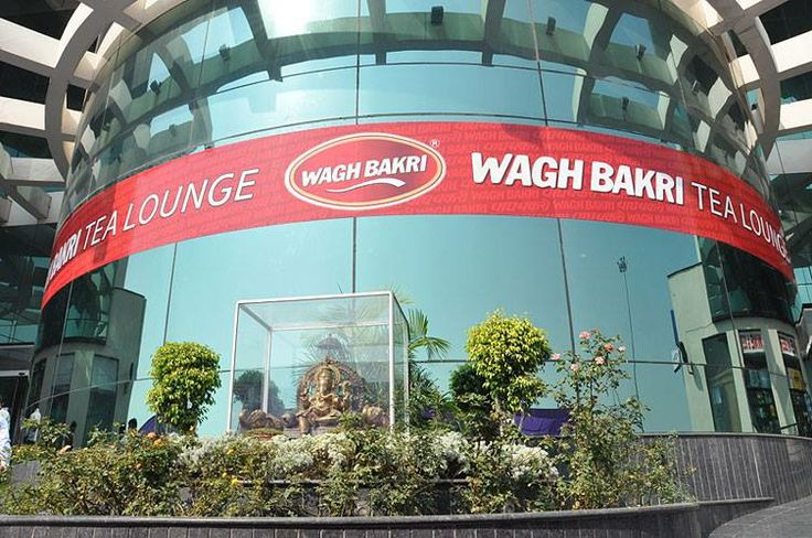 Wagh Bakri Tea Lounge. New Delhi. Exterior.