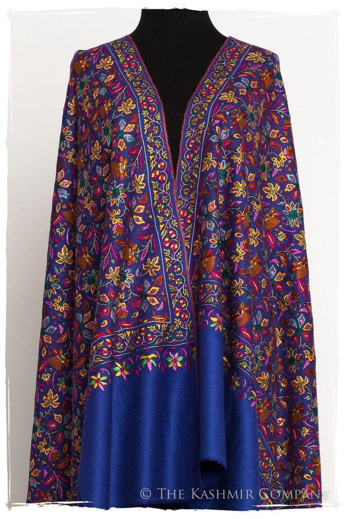 The Gauguin Shawl - Grand Jamawar Pashmina Shawl