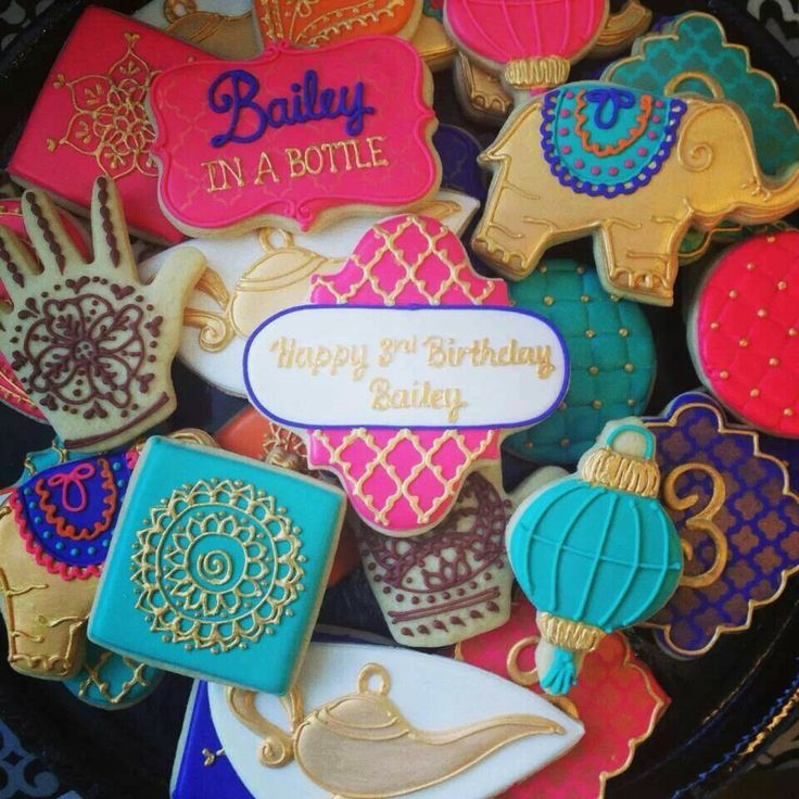 Moroccan Themed Cookies   Icings By Ang