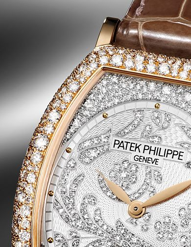 Patek Philippe ladies watch... My Husband picked out all by himself a Patek Phillippe watch for our 25th Anniversary! I am blessed and grateful and so thankful to God and my husband. xx Bella Donna xx