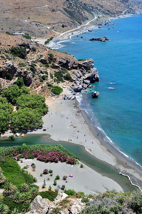 Preveli in Rethymno, Crete
