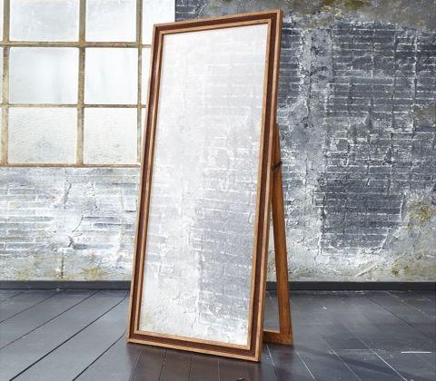 Стильное напольное зеркало во весь рост Рама выполнена вручную из массива палисандра Milan Collection