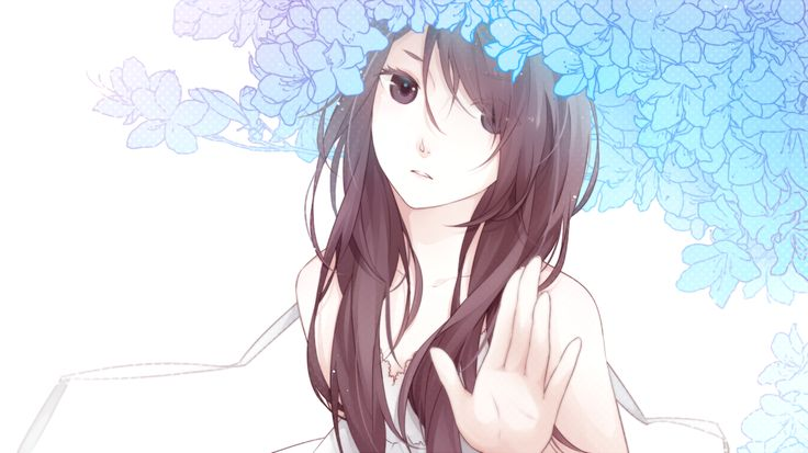 Rei with flowers | My OC for Black Butler | Pinterest ...