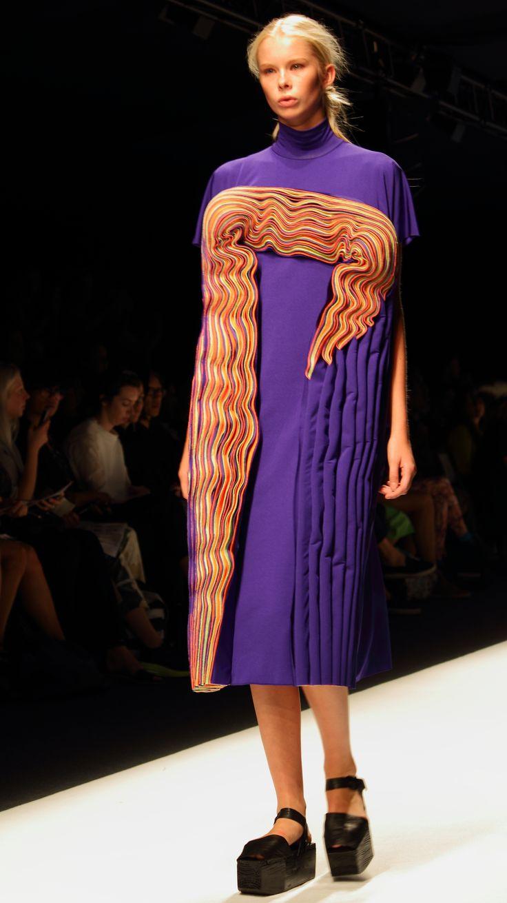 Stockholm Fashion Week 2014. Designer: Hanna Freese. Photo: Sampo Axelsson