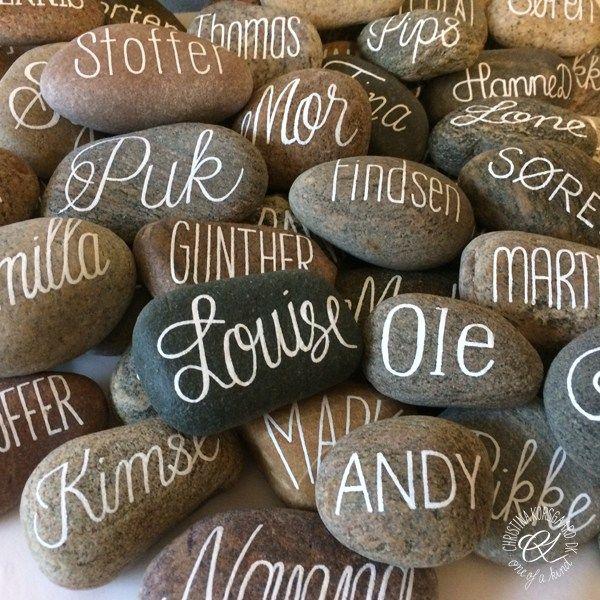 Bordkortsten - kalligrafi på sten.