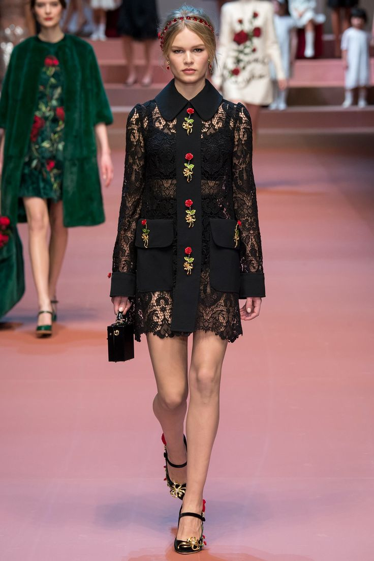 Dolce & Gabbana - Fall 2015 Ready-to-Wear - Look 10 of 91