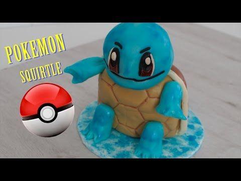 Como hacer Tarta Pokemon Go (Squirtle) | Torta de Pokemon | Pastel de Pokemon | Tortas de Pokemon - YouTube