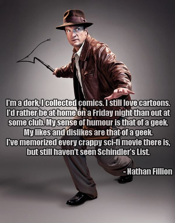 Nathan Fillion rules