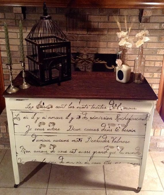 Hey, I found this really awesome Etsy listing at https://www.etsy.com/listing/174286259/a-one-of-a-kind-vintage-french-script