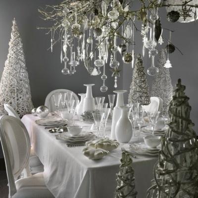 Décorations à suspendre et de table par Athezza - Table de Noël : place à la déco de fête - Journal des Femmes Décoration