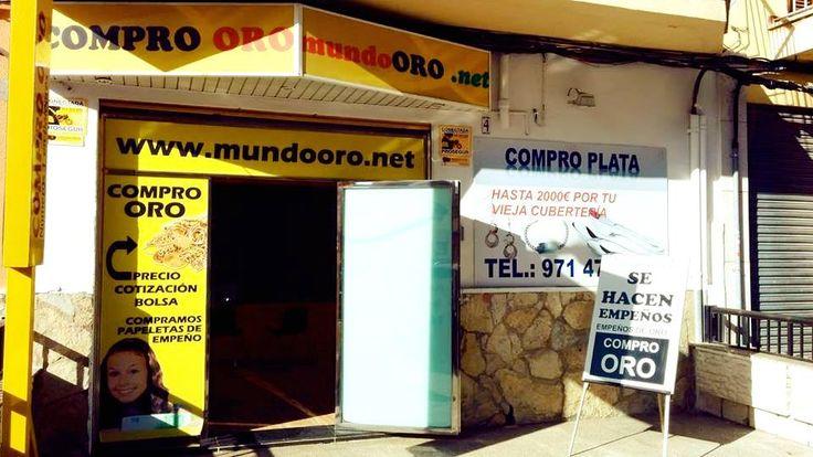 COMPRO ORO MALLORCA  En MundoOro somos expertos en tasación de Oro y Joyas. Ofrecemos una tasación real respecto a la cotización actual del mercado. Además contamos con gran experiencia en gestión de empeños y ofrecemos un asesoramento totalmente personalizado. Solicite su presupuesto a través de nuestro formulario de contacto, por teléfono o visítenos en nuestro establecimiento en Carrer de l Ametler, 20, es Rafal, Palma de Mallorca.