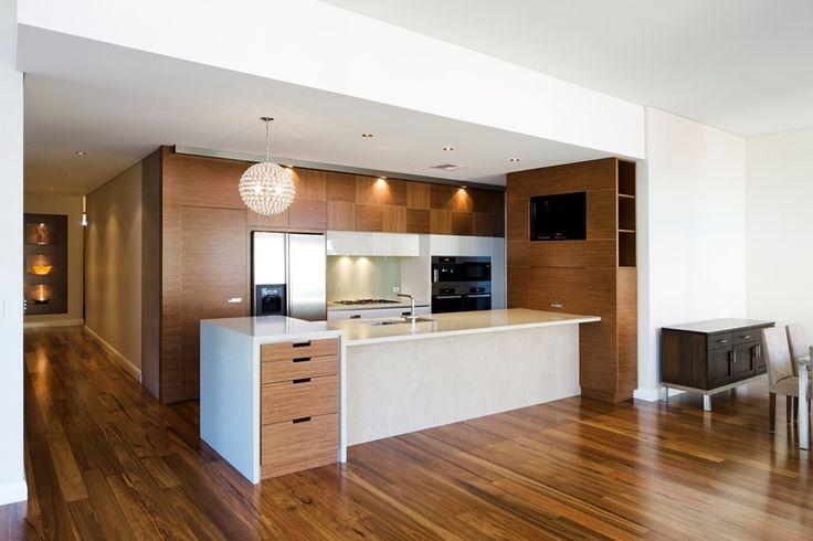 Kitchen with generous storage throughout