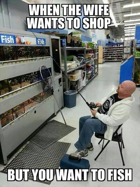 This Is Dedicated To All The Husbands Who Like To Go Fishing! (Don't Show The Wife!) - Cools And Fools