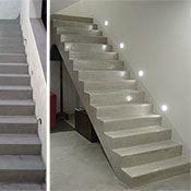 rivestimento scale in cemento