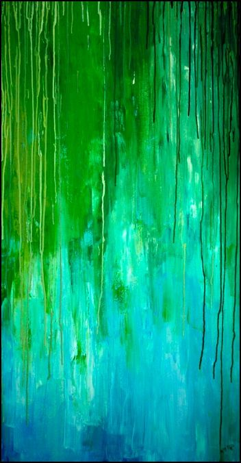 Weeping willow by trauerweide. Want to try something similar with melted crayons