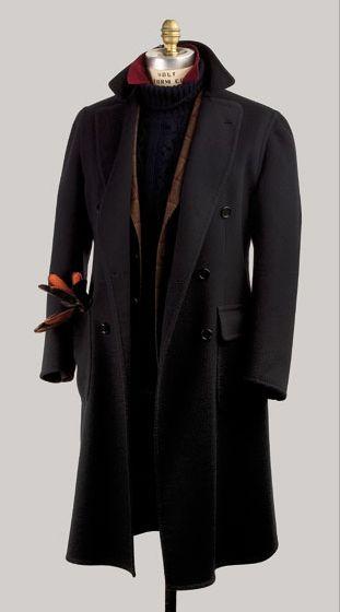 Cesare Attolini, Napoli, Overcoat