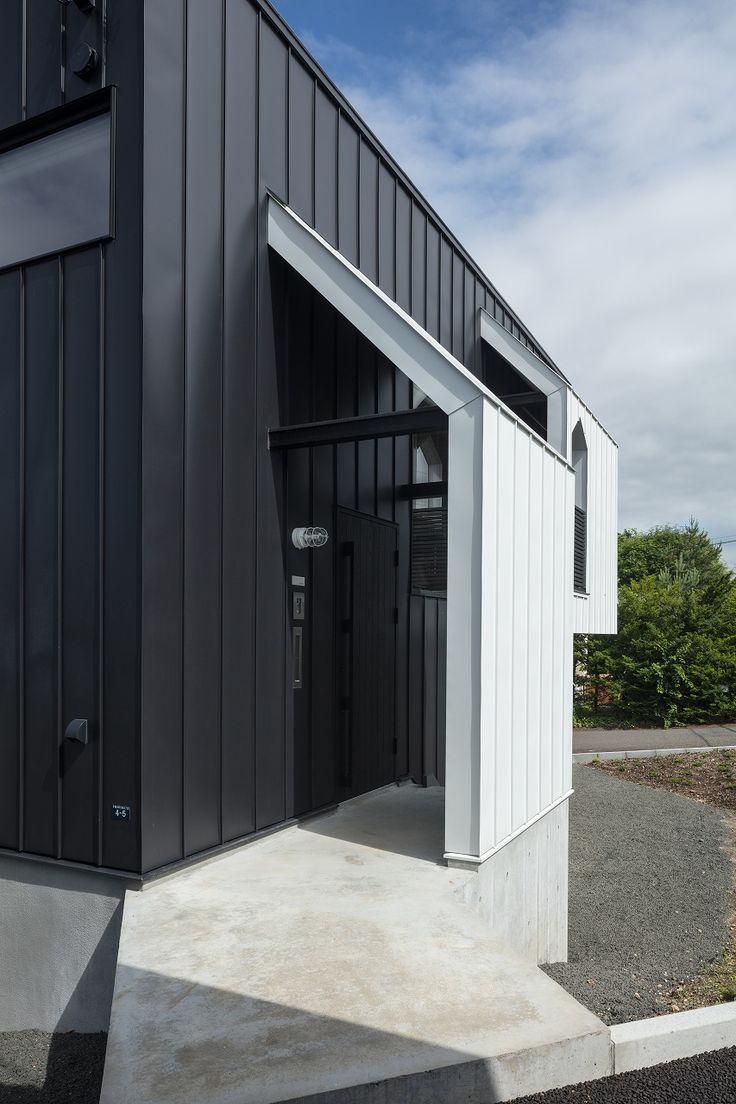 松浦建設 木製ルーバーで囲まれた開放的な空間を持つ住まい むつ市 青森県 住宅実例を見る Replan リプラン