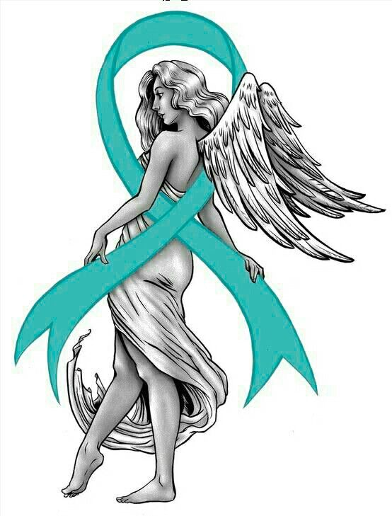 Ovarian cancer tattoo