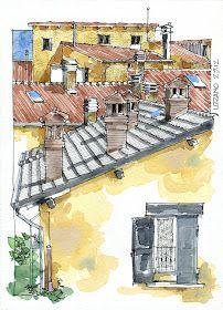 """08.9.2 Bologna . Cortile interno di Palazzo d'Accursio   A small pavilion in the center of Bologna, somewhere in the center of a """"corti..."""