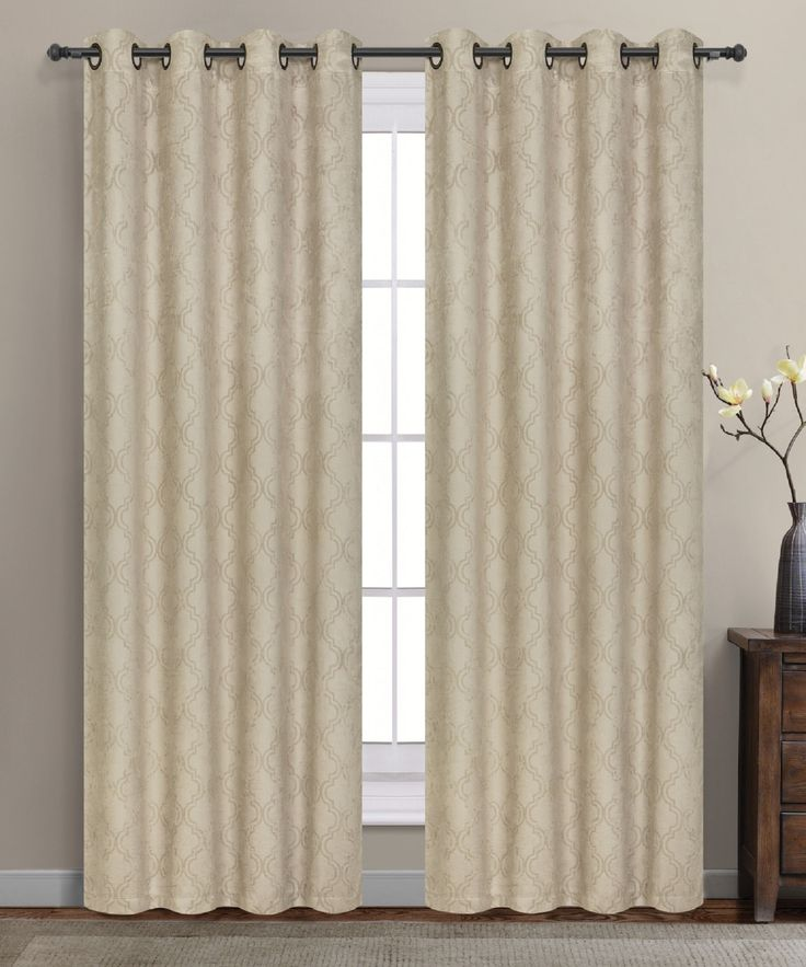 High Quality Warm Home Designs 1 Pair Of Taupe Insulated Thermal Blackout Curtains With  Grommet Top