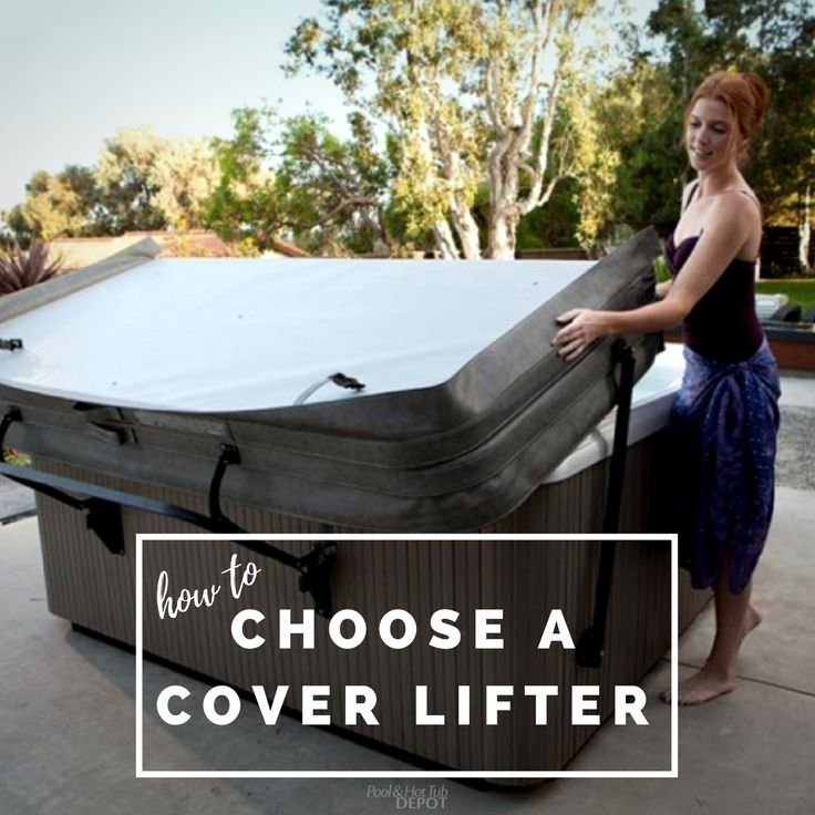 There's many different kinds of hot tub cover lifters - under-mount, spa-mount, cover shelves, and cover stands. Read our comparison to find the one that best suits your lifestyle: https://www.poolandhottubdepot.com/choosingacoverlifter/  . . #hottub #spa #cover #coverlifters #howto #blog #accessories #hottublife #outdoorfun #outdoordesign #patioideas #poolandhottubdepot