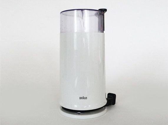 White Braun Coffee Grinder KSM2 Type 4041 / 90s Spice by PopBam