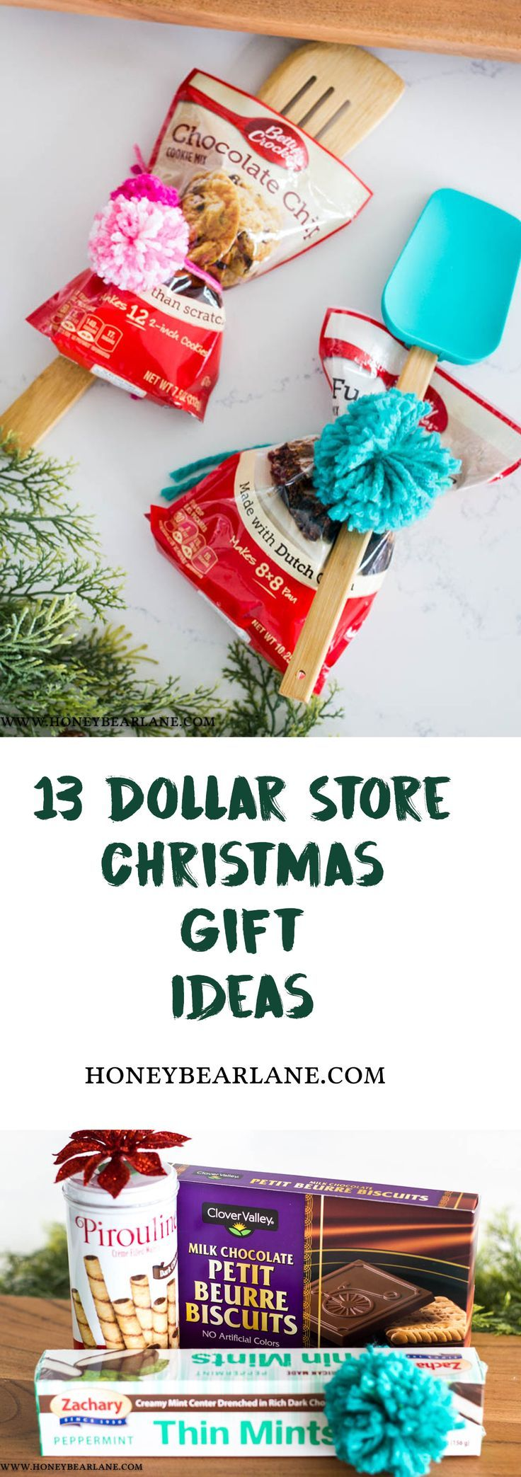 13 Dollar Store Gift Ideas for Christmas – #Christ…