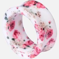 Roses - Tunnel von Acrylic - Artikelnummer: 259920 - Ab 4,99 € - Wildcat Mailorder - Schmuck – Piercing – Fashion und mehr... Willste? Kriegste!