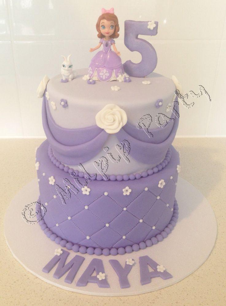 Princess sophia cake  Www.facebook.com/milpipparty