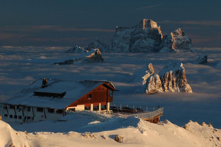 Rifugio Lagazuoi, Italian Dolomites