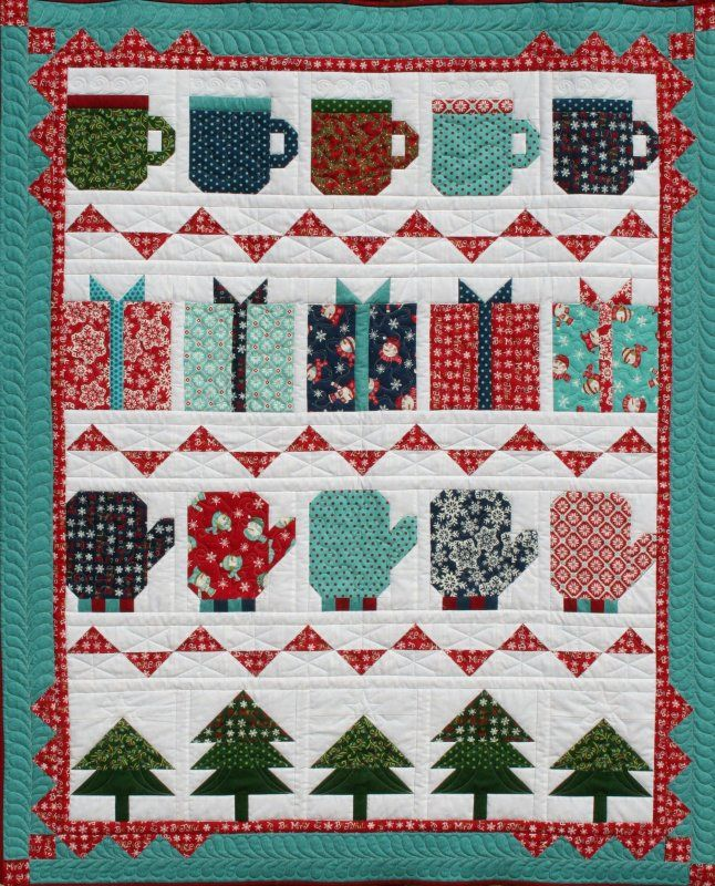 My Favorite Things quilt by Deb Strain for Moda, kit at Old South Fabrics